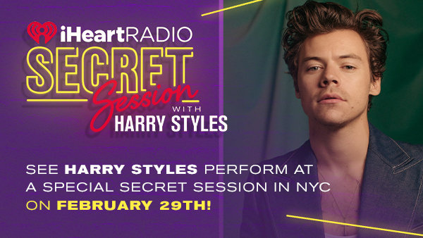image for See HARRY STYLES Perform At A Special Secret Session in NYC on February 29th!