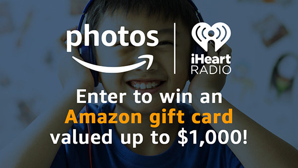 image for Share a Smile Sweepstakes presented by Amazon Photos & iHeartRadio