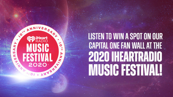 RESERVE YOUR VIRTUAL FRONT ROW SEAT AT THE MAKING OF THE 2020 IHEARTRADIO MUSIC FESTIVAL