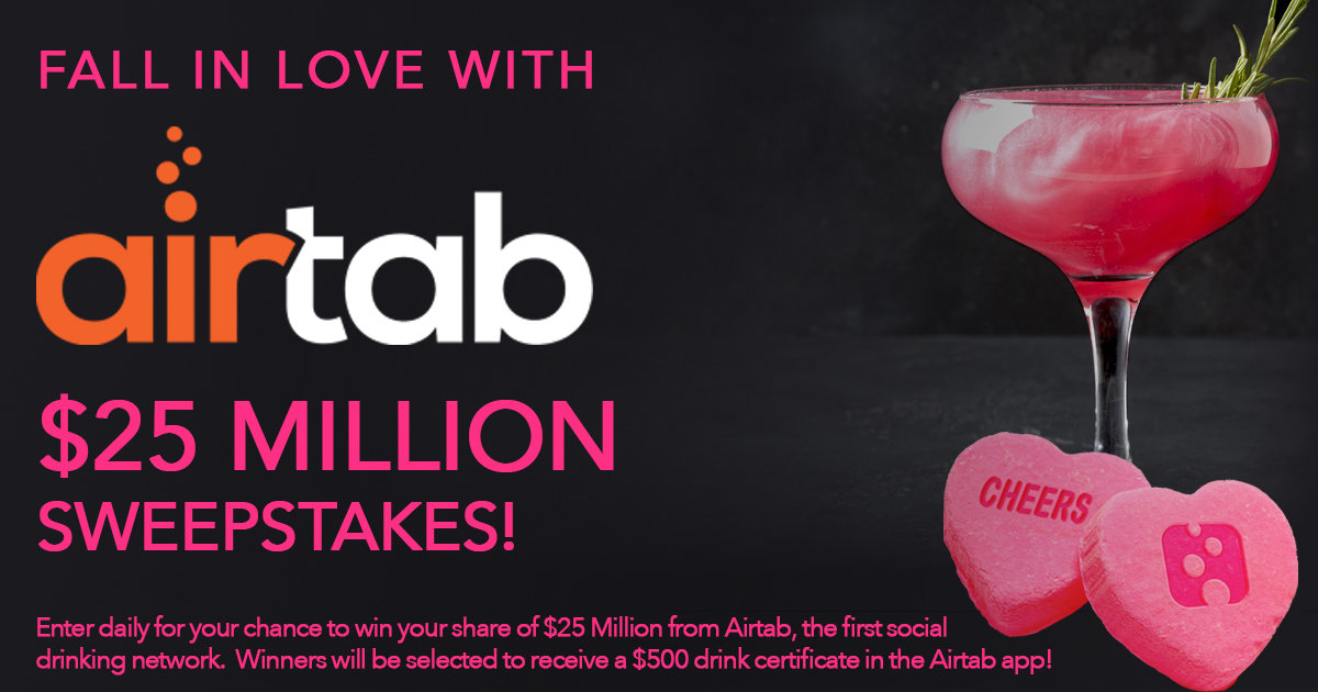 Airtab $25 Million Dollar Holiday Sweepstakes