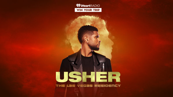 Listen To Usher On iHeartRadio For Your Chance To See Him Live In Las Vegas!