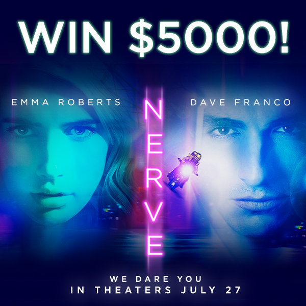 If you have the NERVE to play, you could win $5000!
