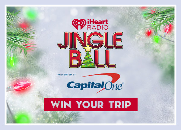 Be a VIP for iHeartRadio's Jingle Ball Tour Presented by Capital One!