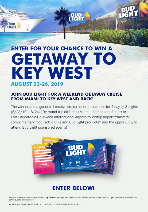 Enter For Your Chance To Win A Getaway To Key West