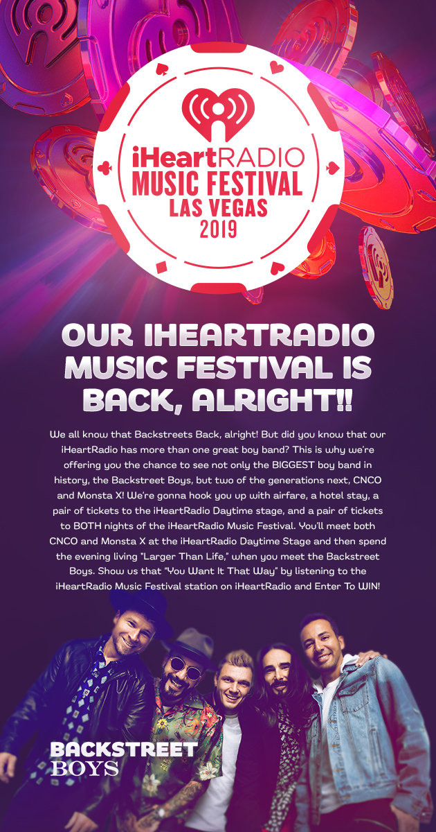 Our iHeartRadio Music Festival Is Back, ALRIGHT!! | My 99 9
