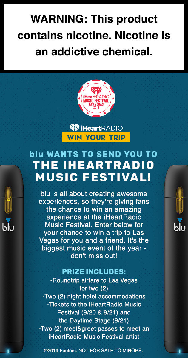 blu Wants To Send You To The iHeartRadio Music Festival