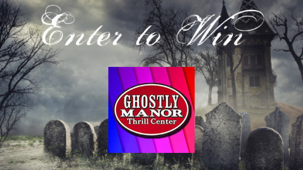 None - Ghostly Manor Thrill Center Family Fun giveaway