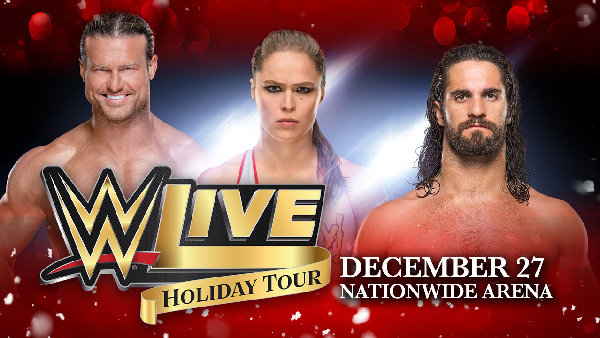 None - WWE LIVE-Holiday Tour giveaway