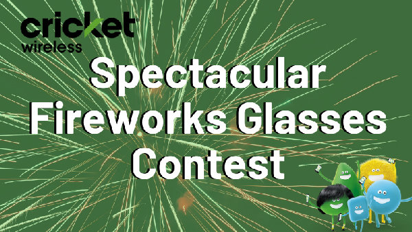 None - Spectacular Fireworks Glasses Contest