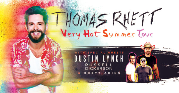 None - Enter To Win Tickets To See Thomas Rhett!