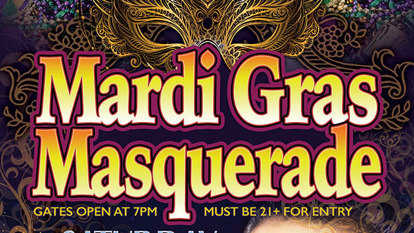 The 2019 Mardi Gras Masquerade Passes