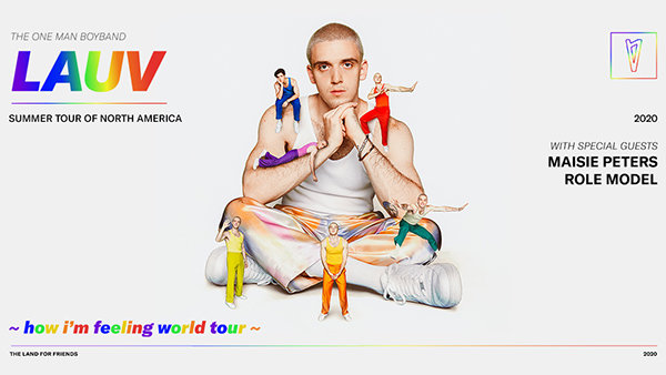 None - Lauv ~how i'm feeling world tour~ Tickets