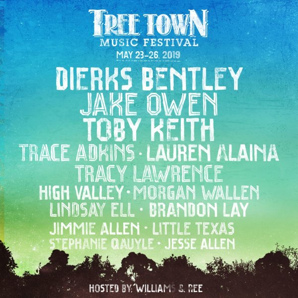 None - Win Weekend Passes to the Tree Town Music Festival!