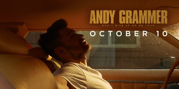 None - 103.7 The Q presents Andy Grammer | Iron City