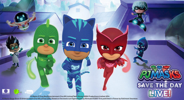 None -  Win a 4-pack of tickets to PJ Masks LIVE! Save the Day