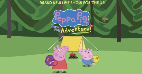 None - Win a family 4-pack of tickets to see Peppa Pig