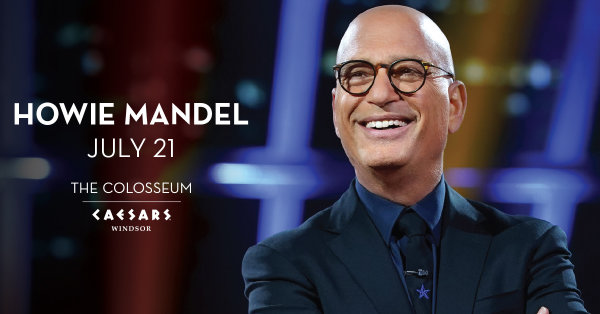 None - Win tickets to see Howie Mandell