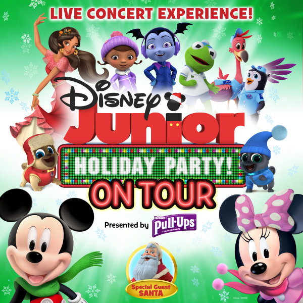 None - Win tickets to Disney Junior Holiday Party! On Tour