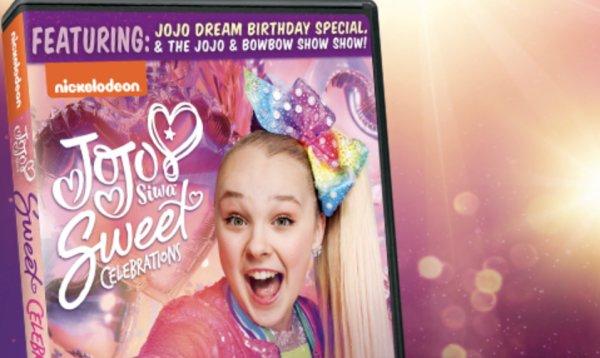 None - Win a Copy of JoJo Siwa: Sweet Celebrations on DVD