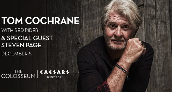 None - Win tickets to see Tom Cochrane