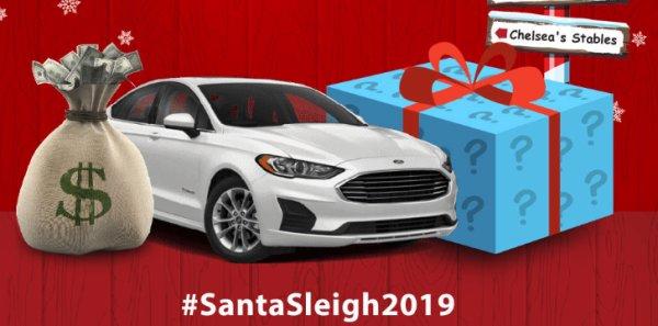 None - Win Santa's Sleigh 2019