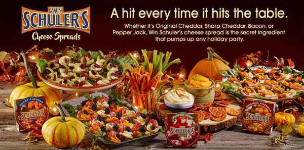 None - Win $100 for a Schuler's Spreads Holiday Basket