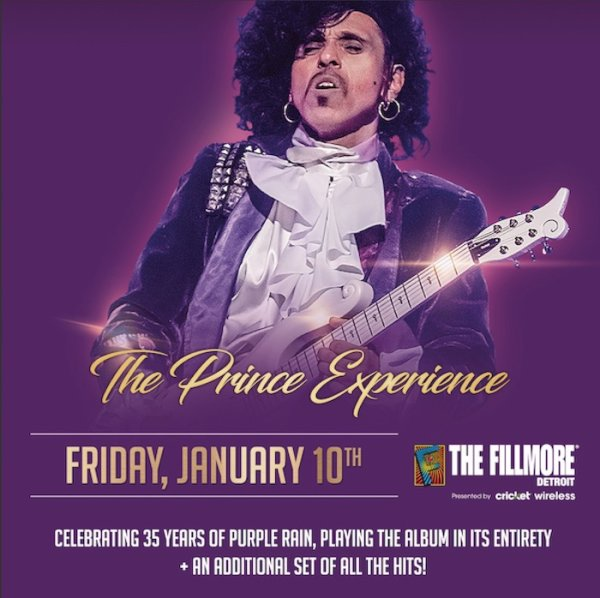 None - Win a pair of tickets to the Prince Experience!