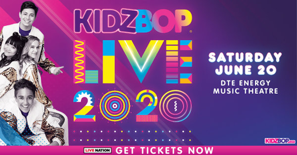 None - Win a family 4-pack of tickets to Kidz Bop