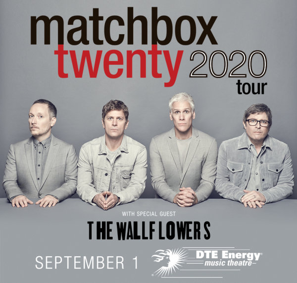 None - Win tickets to see Matchbox Twenty with the Wallflowers
