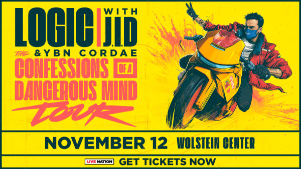 None - Listen at 7:40am, 5:40pm & 9:40pm all this week to win tickets to see Logic with special guest J.I.D