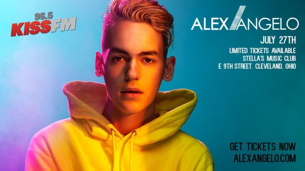 None - Win tickets and Meet & Greet passes to see Alex Angelo