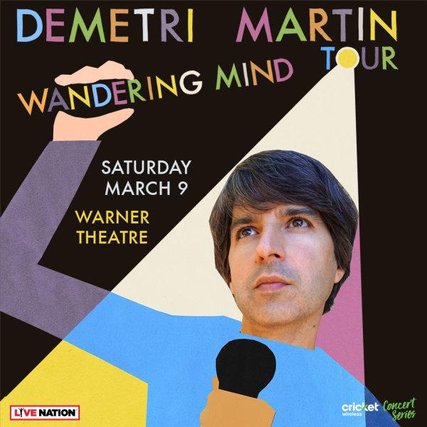 None - Win Demetri Martin Tickets