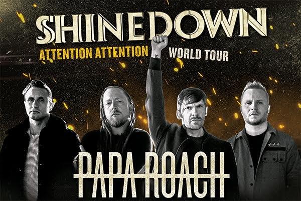 None - Win Shinedown Tickets