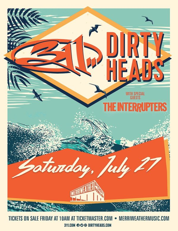 None -    Win 311 and Dirty Heads Tickets
