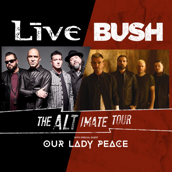None -   Win Live and BUSH Tickets
