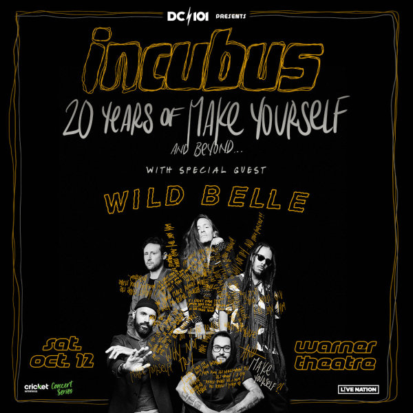 None -        Win DC101 Presents Incubus Tickets Night 2