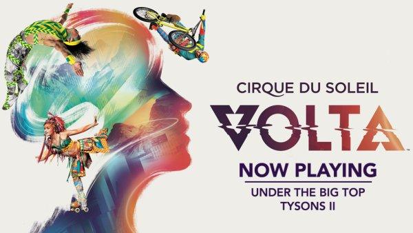 None - Win Cirque Du Soleil VOLTA Tickets