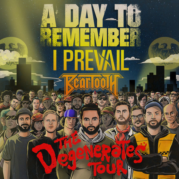 None - Win A Day To Remember Tickets