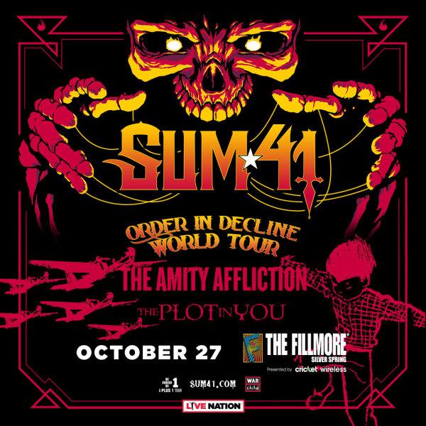 None - Win Sum 41 Tickets and a pair of Vans