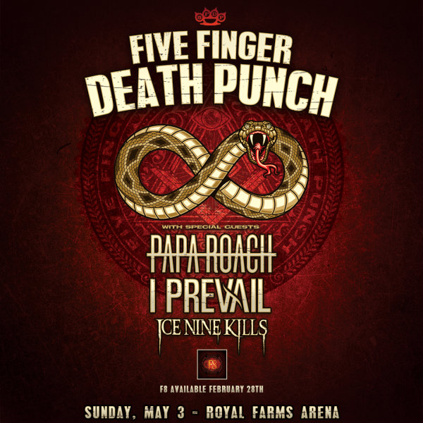 image for Win Five Finger Death Punch Tickets