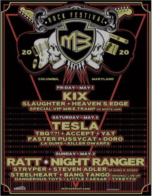 image for Win M3 Rock Festival Tickets