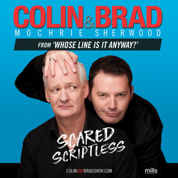 image for Win Colin Mochrie And Brad Sherwood Tickets