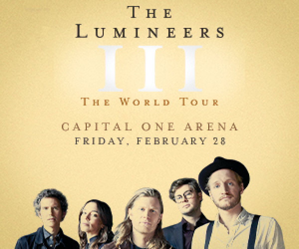 image for Win The Lumineers Tickets This Weekend