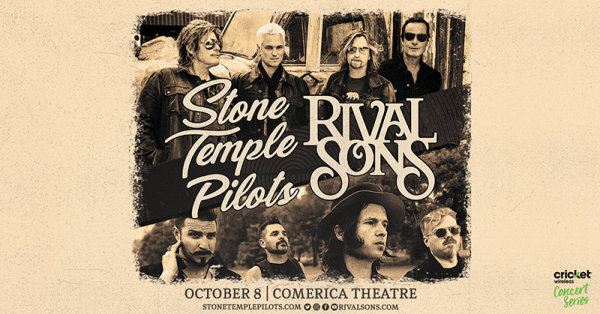 None - Win tickets to see Stone Temple Pilots!