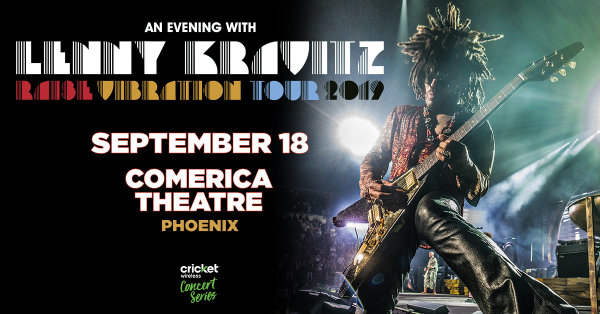 None - Win tickets to see Lenny Kravitz!