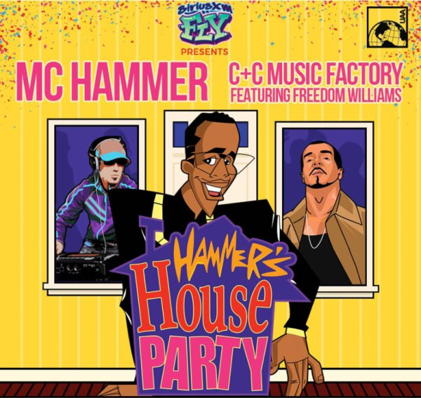 None - Win tickets to see MC Hammer and C&C Music Factory!