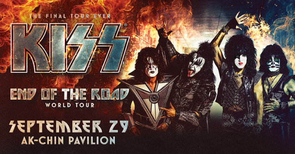 None - Win tickets to see KISS in 2020!