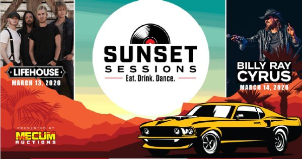 image for Win tickets to Sunset Sessions presented by Mecum Auctions!