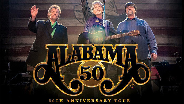 None -   Win tickets to the Alabama 50th Anniversary Tour!