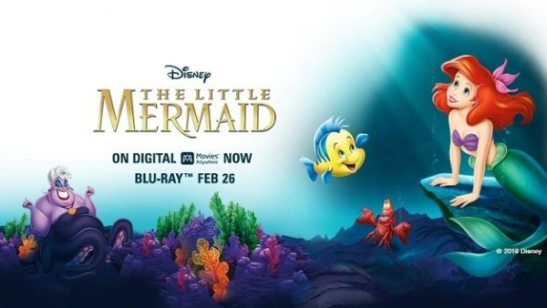 None -  Win a digital copy of Disney's THE LITTLE MERMAID + dinner at Luna Grill